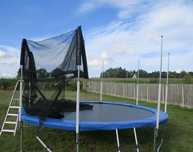Measuring Guide For Enclosure Systems with Netting and Poles