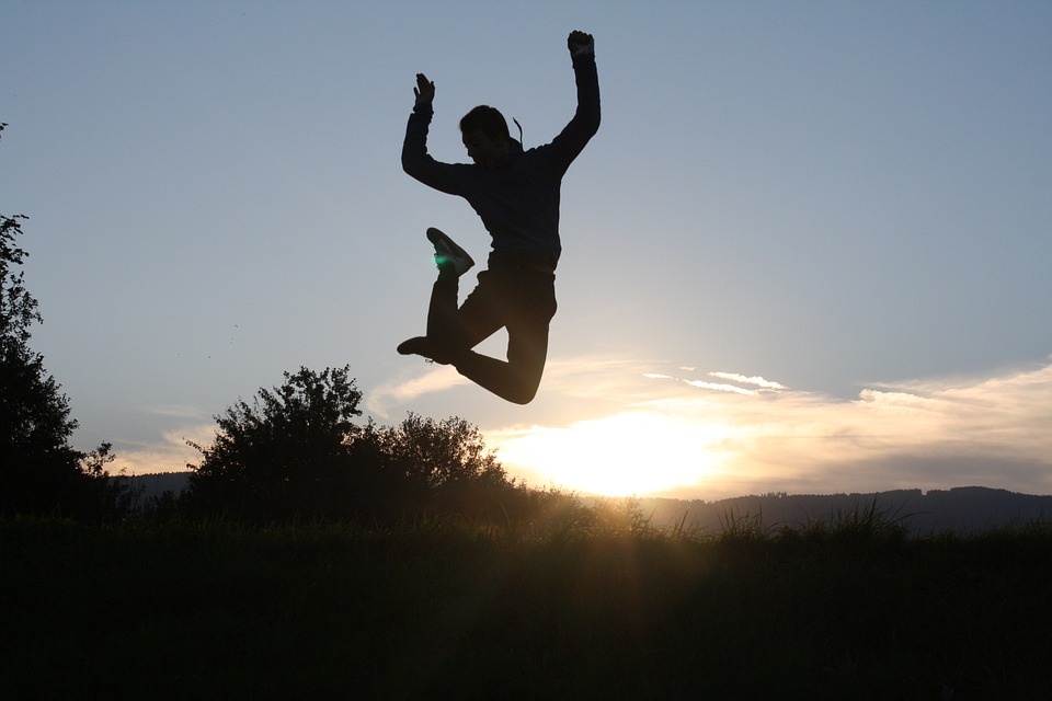 The New Year detox benefits of the trampoline.