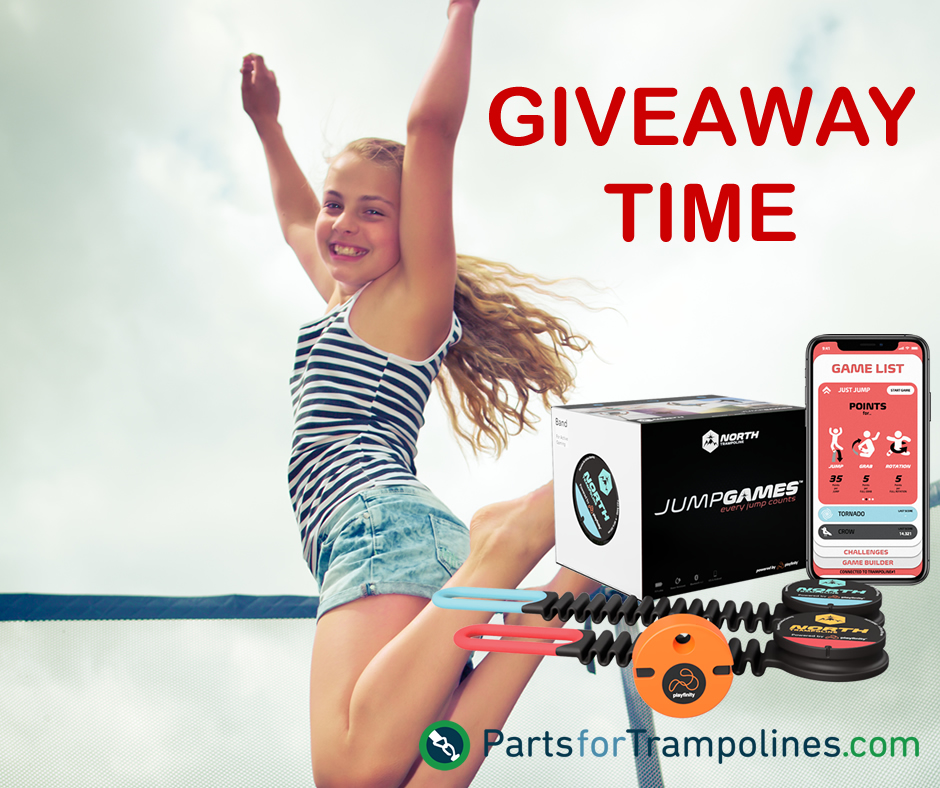 JUMPGAMES GIVEAWAY – Gamify your Trampoline