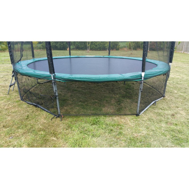 8 Foot Trampoline Safety Skirt Net With Integrated Shoes