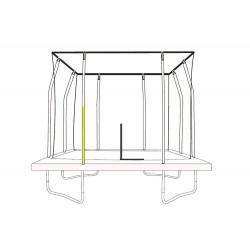 JumpKing Bottom Enclosure pole for Rectangular Trampoline (32mm)