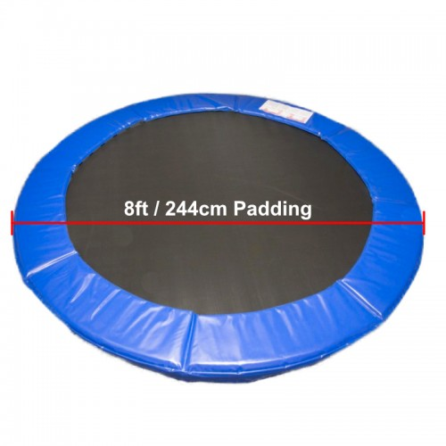 8 ft Super Premium Trampoline Safety Padding (blue)