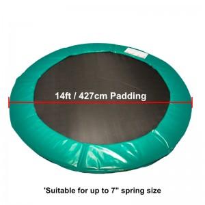14 ft Premium Trampoline Safety Padding (Green)