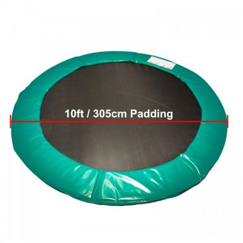 10 ft Super Premium Trampoline Safety Padding (Green)