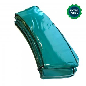 10 ft Super Premium Trampoline Safety Padding (Extra Wide - Green)