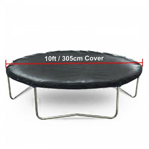 Weatherproof Trampoline Cover (Black) for 10 ft Trampoline