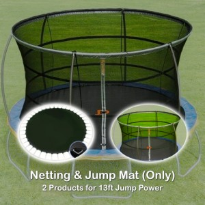 13 ft Jump Mat and Netting (2 products for Jump Power Trampoline)