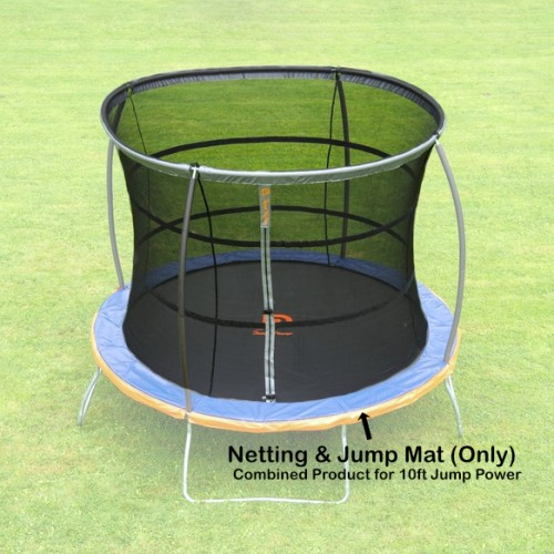 10 ft Jump Mat and Netting (Combined) for Jump Power Trampoline)
