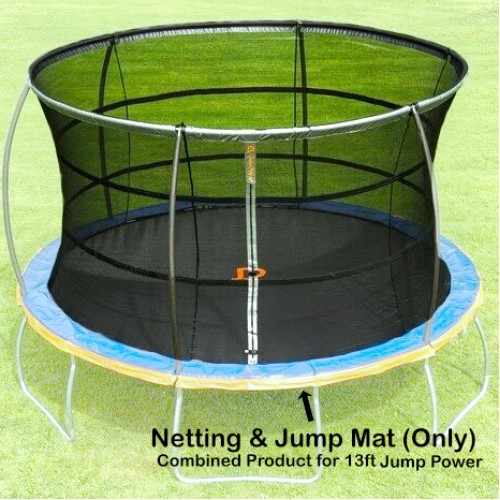 13 ft Jump Mat and Netting (Combined) for Jump Power Trampoline)
