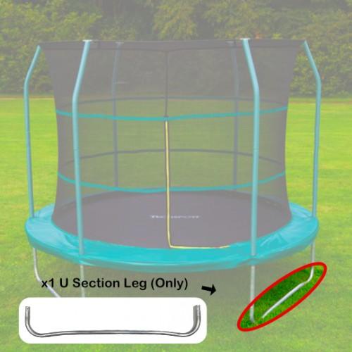 Tech Sport U Section of Leg of Frame for 10 foot trampoline