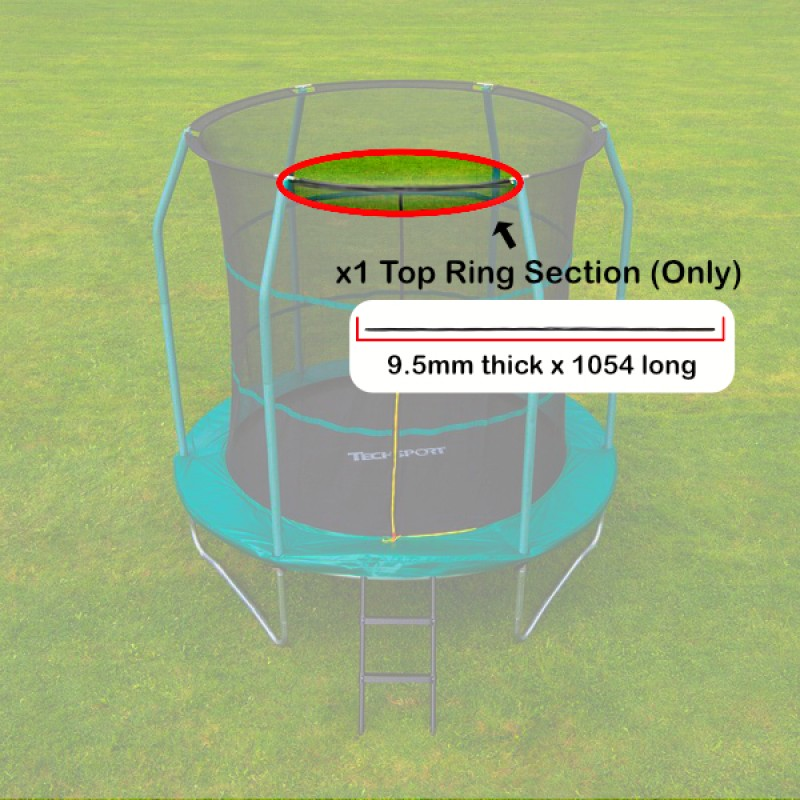Top Ring for Tech Sport  8 foot  Trampoline Top Ring