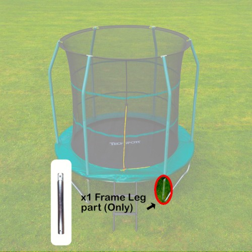 Tech Sport Frame Leg 8 foot trampoline