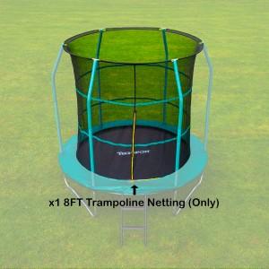 Tech Sport 8 ft Trampoline Netting (inside type for 6 straight poles)