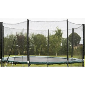 10 ft Enclosure Set for 8 pole (netting and poles and brackets)